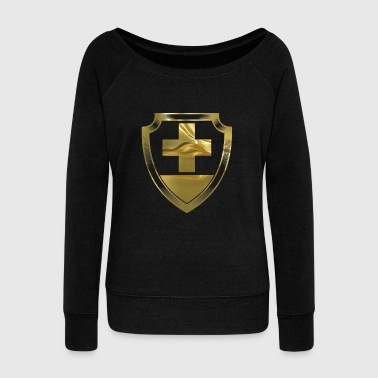 Switzerland Switzerland - Switzerland - Women's Boat Neck Long Sleeve Top