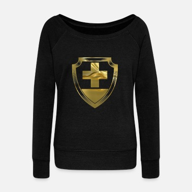 Switzerland Switzerland - Switzerland - Women's Wide-Neck Sweatshirt
