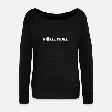 Beach Volleyball Volleyball beach volleyball - Women's Boat Neck Long Sleeve Top