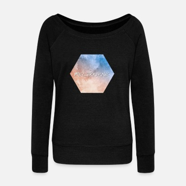 Melbourne Melbourne - Women's Wide-Neck Sweatshirt