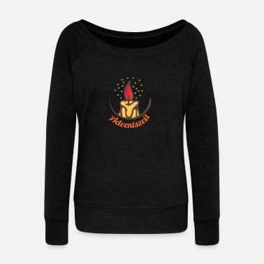 Advent Advent - Women's Boat Neck Long Sleeve Top