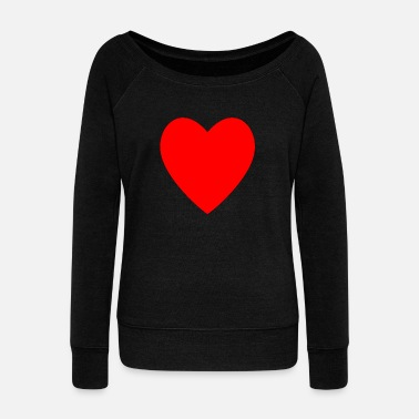 Red Heart Red heart - Women's Boat Neck Long Sleeve Top