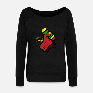 Reggae Reggae eu - Women's Boat Neck Long Sleeve Top