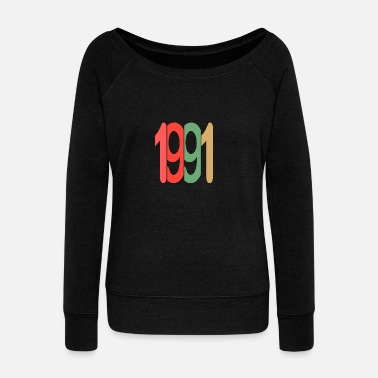 Established Established 1991 - Frauen Pullover mit U-Ausschnitt