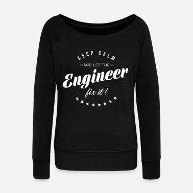 Electrical Engineering Engineer saying gift - Women's Boat Neck Long Sleeve Top