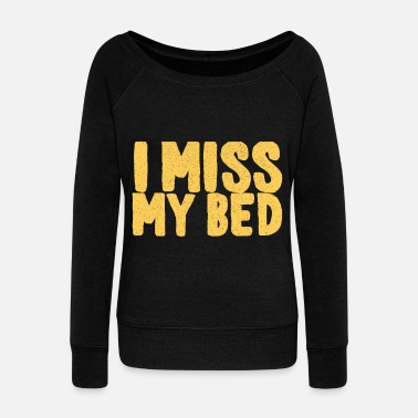 Bed BED - Women's Boat Neck Long Sleeve Top
