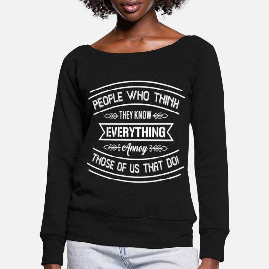 Morsom T skjorte med teksten «Folk som tror de vet