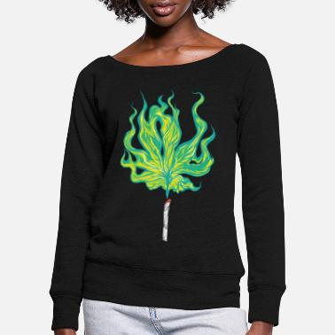 Joint joint - Women's Wide-Neck Sweatshirt