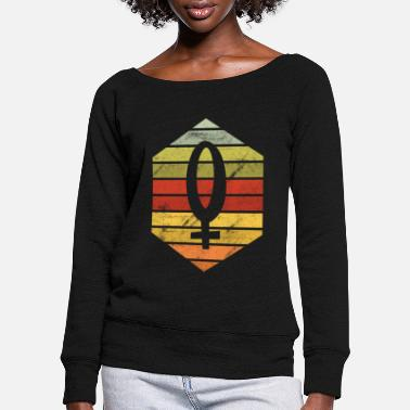 Feminist International Women's Day March 8 holiday - Women's Wide-Neck Sweatshirt