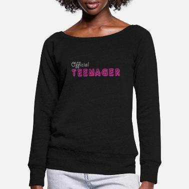 Teenager Offiziell Teenager - Official Teenager - Mädchen - Pull col bateau Femme