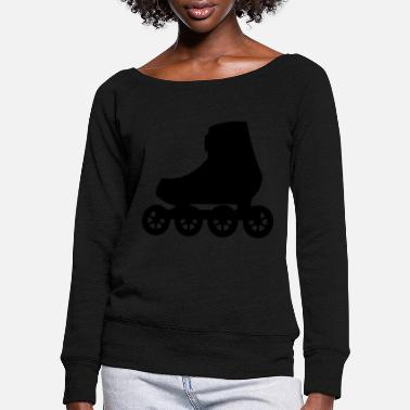 Draw Inline Skate - Fitness Skate - Women's Wide-Neck Sweatshirt