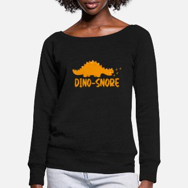 dinosaur - Women's Wide-Neck Sweatshirt