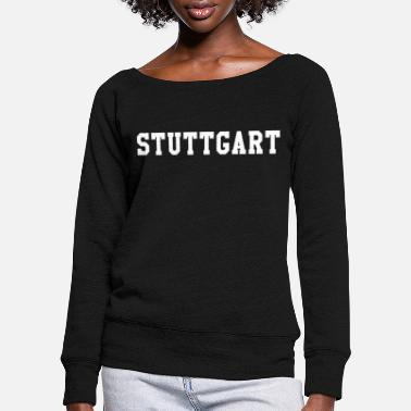 Stuttgart Stuttgart - Women's Wide-Neck Sweatshirt