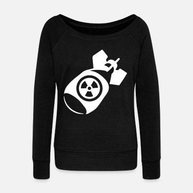 Atomic Bomb atomic bomb - Women's Wide-Neck Sweatshirt