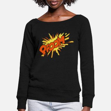 Explosion explosion - Pull col bateau Femme
