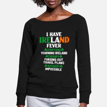 Ireland Ireland - Women's Wide-Neck Sweatshirt