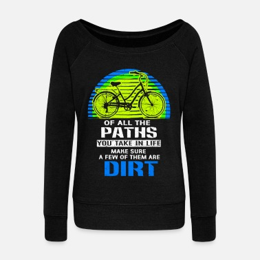 bicycle - Women's Wide-Neck Sweatshirt