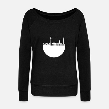 World War Berlin - Women's Wide-Neck Sweatshirt