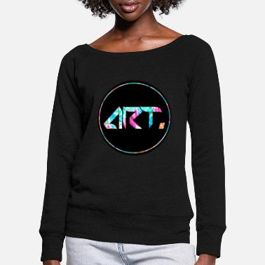 art. - Women's Wide-Neck Sweatshirt