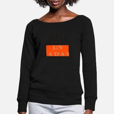 Motto big on the net + your blog etc - Frauen Pullover mit U-Ausschnitt
