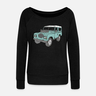 Land Rover Land Rover 4 x 4 Land Rover Series3 88 - Women's Wide-Neck Sweatshirt