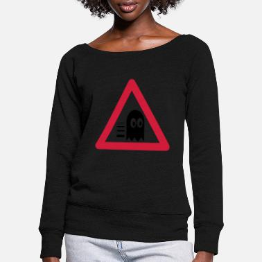 Traffic Sign Traffic signs Pacimonster - Women's Wide-Neck Sweatshirt