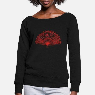 Flamenco flamenco - Women's Wide-Neck Sweatshirt