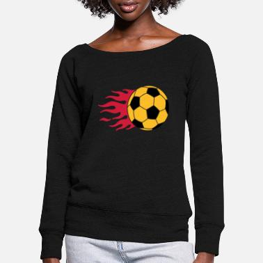 Simple football - Pull col bateau Femme