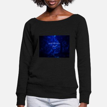 Get the fuck out of my mind - Women's Wide-Neck Sweatshirt