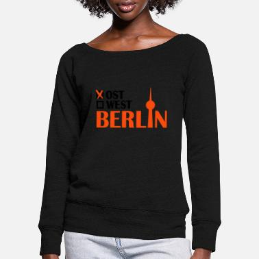 East Berlin East Berlin - Women's Wide-Neck Sweatshirt