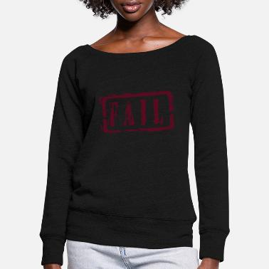 Writing fail writing - Vrouwen U-hals longsleeve