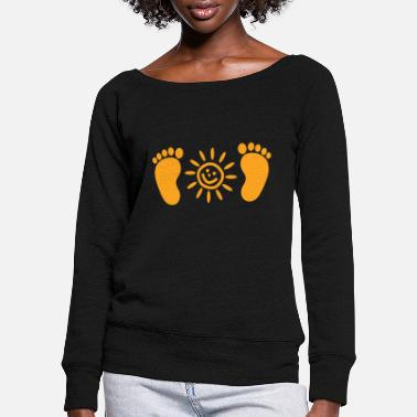 Kid Kids kids - Women's Wide-Neck Sweatshirt