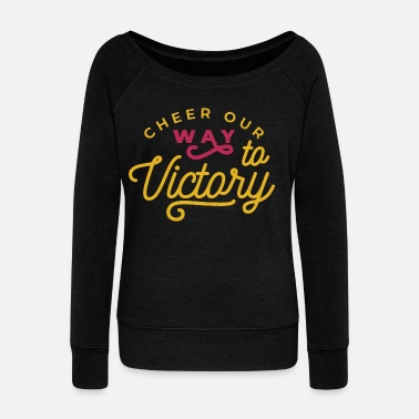 Cheer Our Way Cheerleading Cheerleading - Pull col bateau Femme