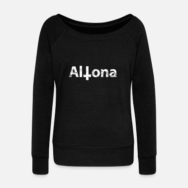 Altona Black Altona - Women's Wide-Neck Sweatshirt