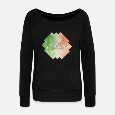 Italy Italy - Italy - Women's Wide-Neck Sweatshirt