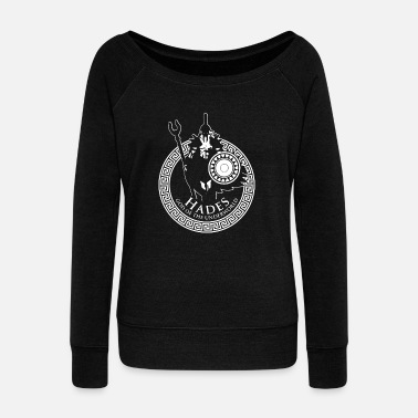 Ancient Greek Mythology Gift | Ancient Greece History - Women's Wide-Neck Sweatshirt