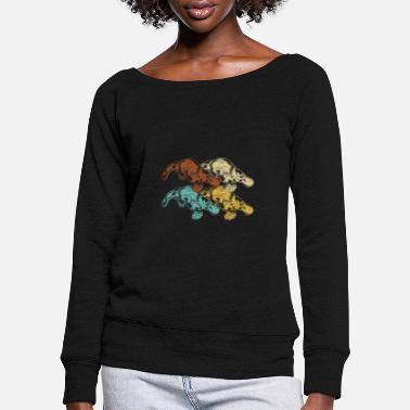 Beak Platypus beak - Women's Wide-Neck Sweatshirt