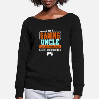 Console console - Women's Wide-Neck Sweatshirt