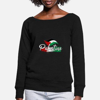 Palestine Palestine - Women's Wide-Neck Sweatshirt