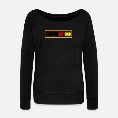 Black Red Gold Black Red Gold - Football - Pull col bateau Femme