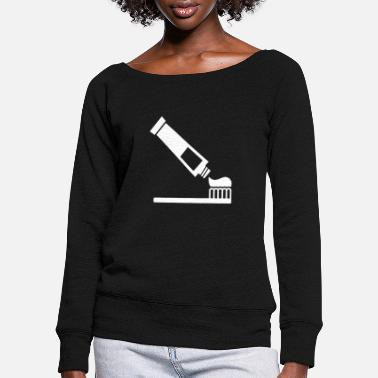 Toothpaste Toothpaste - Women's Wide-Neck Sweatshirt