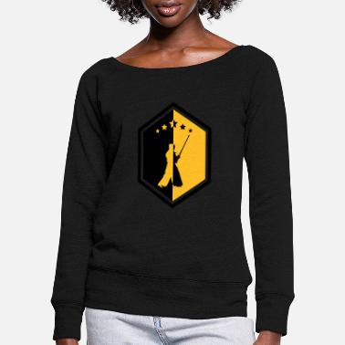 Art Martial Funny Kendo / Kendoka / Martial Arts / Samurai - Women's Wide-Neck Sweatshirt