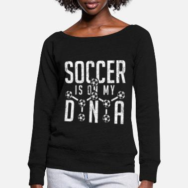 Penalty Kick Football, gift, gift idea, sport - Women's Wide-Neck Sweatshirt