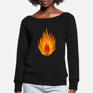 Concentration concentrate - Women's Wide-Neck Sweatshirt