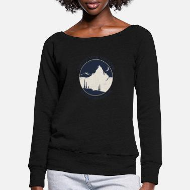 Take Take the long way home Adventure awaits - Frauen Pullover mit U-Ausschnitt