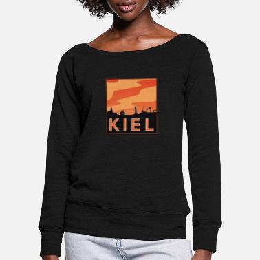 Kiel Kiel, Kiel Fjord - Women's Wide-Neck Sweatshirt