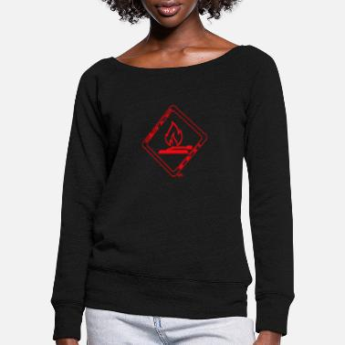 Turntable SilenceFiction, flamed Turntable - Frauen Pullover mit U-Ausschnitt