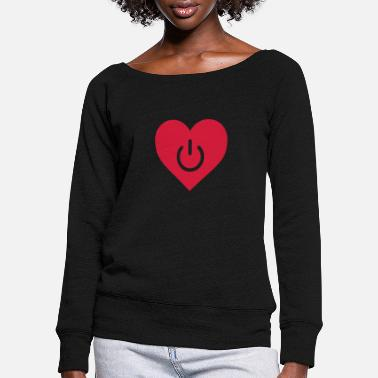 Mariage power of love v1 - Pull col bateau Femme