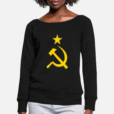 Soviet Soviet Union - Women's Wide-Neck Sweatshirt