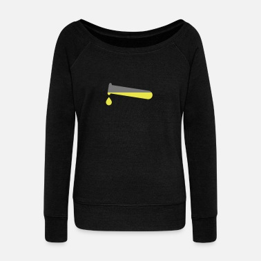 Test Tube Test tube - Women's Wide-Neck Sweatshirt